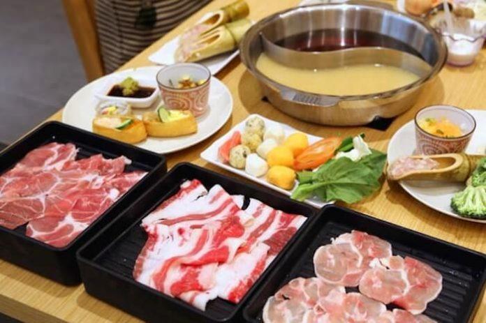 Japanese shabu shabu