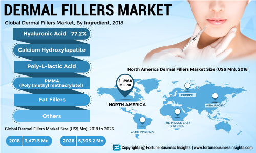 Dermal Fillers Market Global Trends, Size, Segments and Growth by